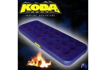 GENUINE KODA SINGLE INFLATABLE AIR BED MATRESS CAMP CAMPING HIKING OUTDOOR NEW