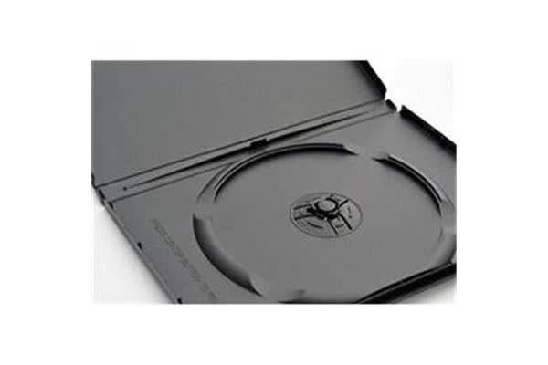 Imatech Single DVD Case 14mm Black with Clear Film Cover