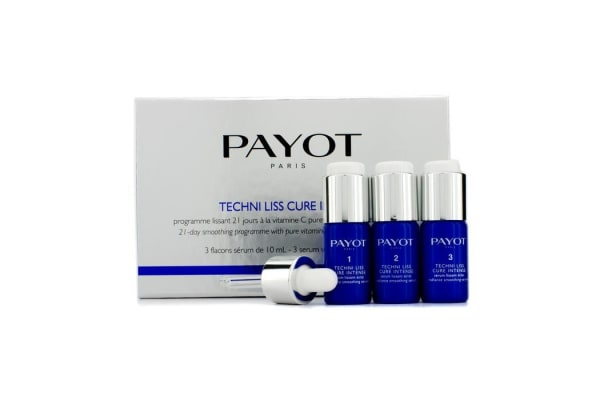 Payot Techni Liss Cure Intense - 21-Day Smoothing Programme (3x10ml/0.34oz)