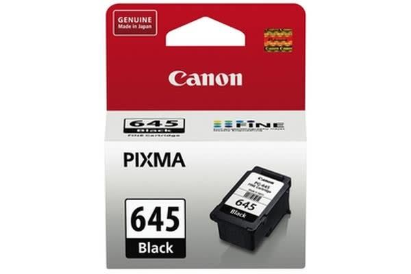 Canon PG645 Black Ink Cartridg Suits MG2560 180 Pages