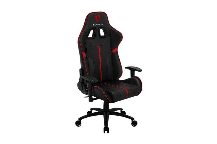 ThunderX3 BC3 Breathable Pinhole Surface Gaming Chair - Black/Red
