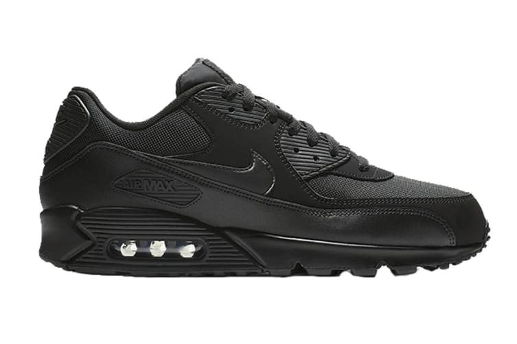 Nike Men's Air Max 90 Essential (Black, Size 9 US)