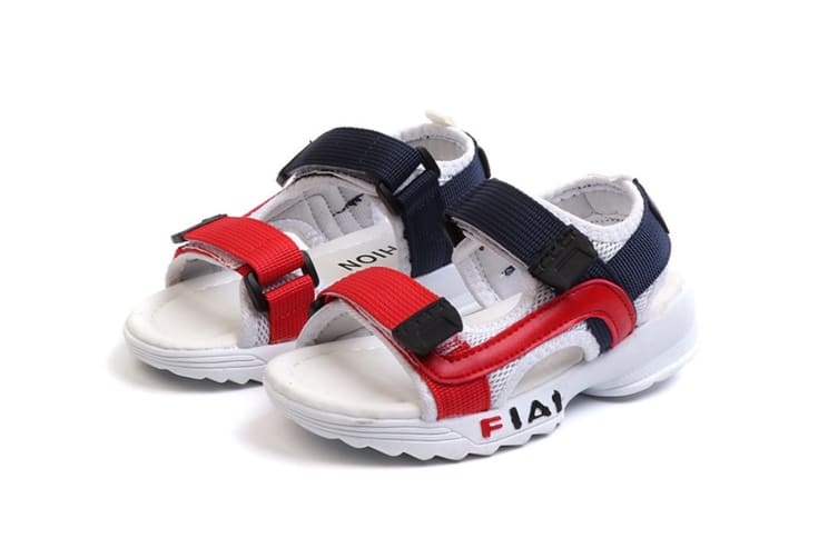 Children'S Sandals Matching Boys And Girls Sandals White 28