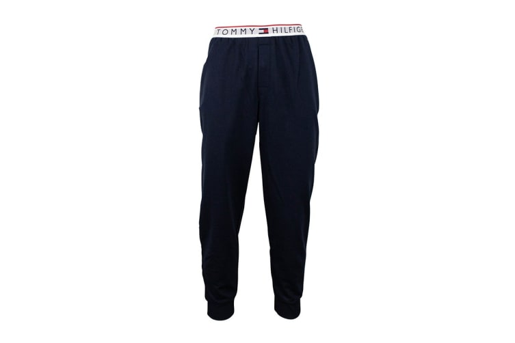 Tommy Hilfiger Men's Modern Essentials Sweatpants With Logo Band (Dark Navy, Size S)