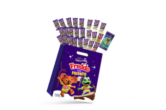30pc Cadbury Freddo & Friends Kids Showbag w/Caramello/Strawberry/Dairy Milk