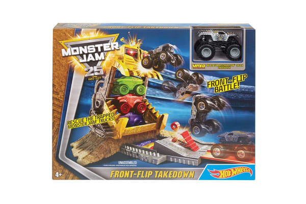 Hot Wheels Monster Jam Front Flip Takedown