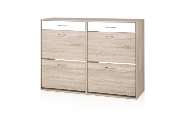 2 Tier Shoe Cabinet 36 Pairs