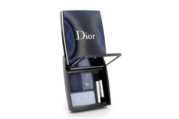 Christian Dior 3 Couleurs Smoky Ready To Wear Eyes Palette - # 291 Smoky Navy (5.5g/0.19oz)