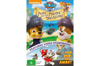 Paw Patrol Pups and the Pirate Treasure DVD Region 4