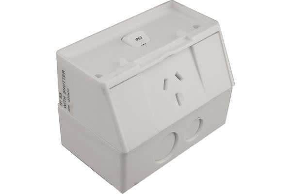 Transco Ip53 Single Power Point 10A