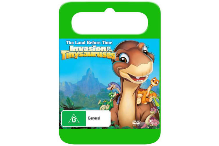 The Land Before Time 11 Invasion of the Tiny Sauruses DVD Region 4