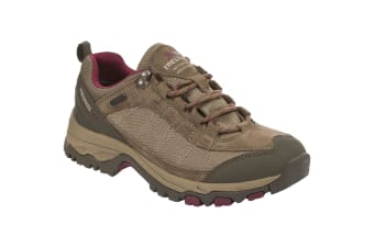 Trespass Womens/Ladies Scree Lace Up Technical Walking Shoes (Brindle) (7 UK)