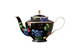 Maxwell & Williams Teas & C's Contessa 1L Teapot w Stainless Steel Infuser Black