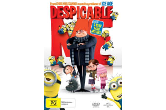 Despicable Me DVD Region 4