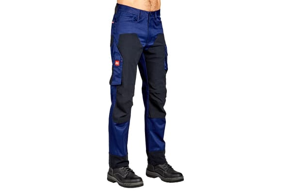 Hard Yakka Legends 3D Stretch Pants (Navy/Black, Size 107R)