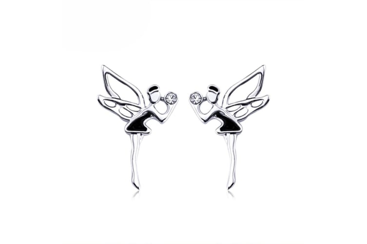 Fairy Earrings Embellished with Swarovski crystals
