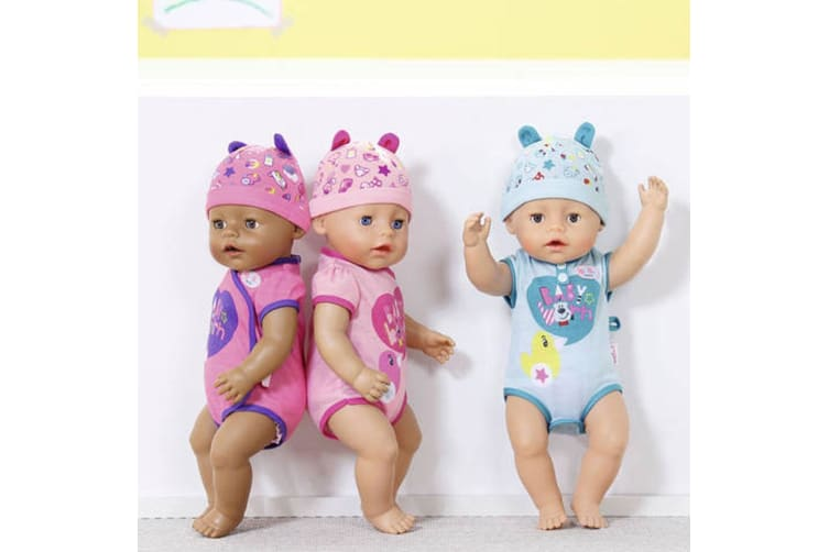 Baby Born Interactive Soft Touch Girl Doll