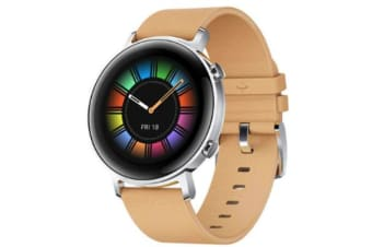 Huawei Watch GT 2 42mm Smart Watch Classic Edition with BeigeLeather Strap