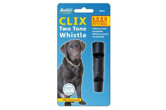 Clix Two Tone Whistle (May Vary)
