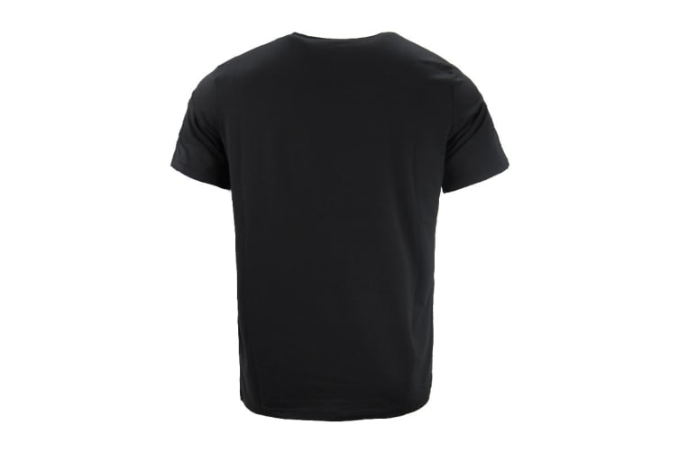 ASICS Men's Training Graphic Tee (Black, Size XL)