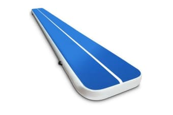 6 x 1M Inflatable Air Track Mat (Blue)