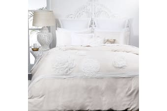 Platinum Collection Tiffany Blush Quilt Cover Set Queen