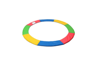 8 FT Kids Trampoline Pad Replacement Mat Reinforced Outdoor Round Spring Cover  -  8ft.