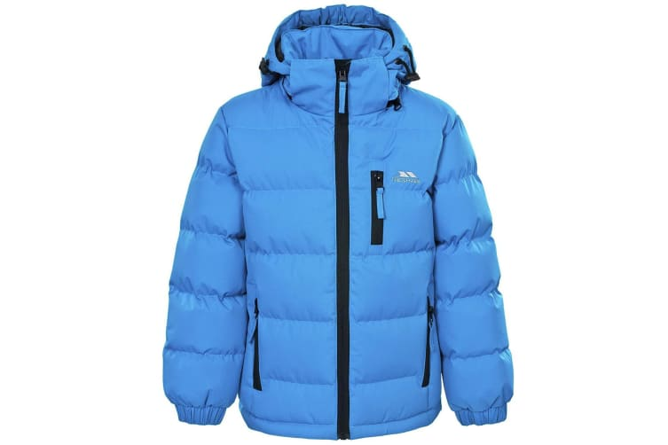 Trespass Kids Boys Tuff Padded Winter Jacket (Blue) (3/4 Years)