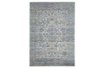 Duality Silver Transitional Rug 400x300cm