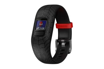 Garmin Vivofit Jr. 2 (Adjustable, Marvel Spiderman Black)