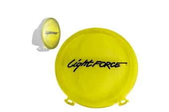 LIGHTFORCE GENESIS YELLOW SPREAD FILTER DRIVING LIGHTS LAMPS LAMP