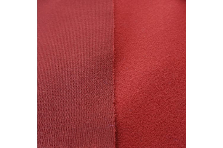 Single-sided Wool Pool Snooker Billiard Table Felt / Cloth for 7ft 8ft Top - Burgundy