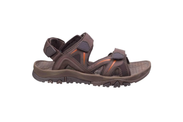 Cotswold Mens Cutsdean Sandals (Brown/Orange) (8 UK)