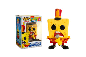 SpongeBob SquarePants Spongebob w/Band outfit US Pop! Vinyl