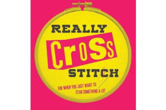 Really Cross Stitch - For when you just want to stab something a lot