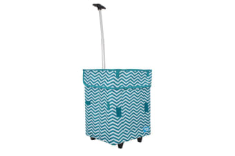 White Magic Handy Cart Jumbo Tiffany Chevron