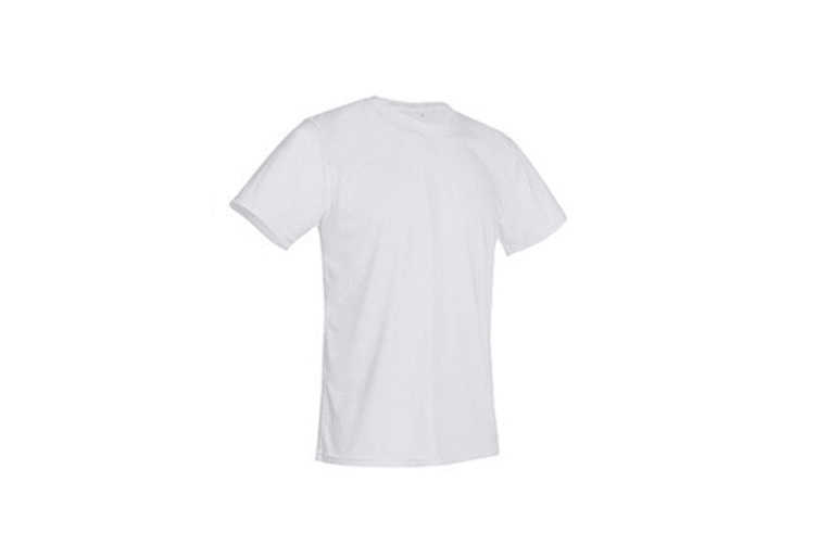 Stedman Mens Active Cotton Touch Tee (White) (XL)