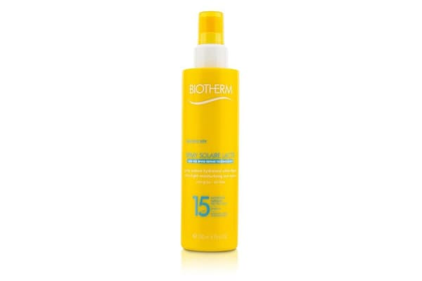 Biotherm Spray Solaire Lacte Ultra-Light Moisturizing Sun Spray SPF 15 (200ml/6.76oz)