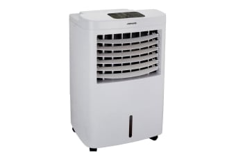 Heller 12L Portable Evaporative Humidifier Air Cooler Fan/Timer/Ice Compartment