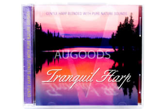 Tranquil Harp - Gentle Harp Blend with Pure Nature Sounds MUSIC CD NEW SEALED