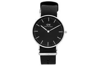Daniel Wellington 36mm Classic Cornwall Watch - Black