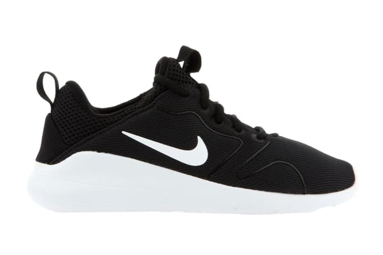 Nike Women's Kaishi 2.0 Running Shoes (Black/White, Size 6.5 US)