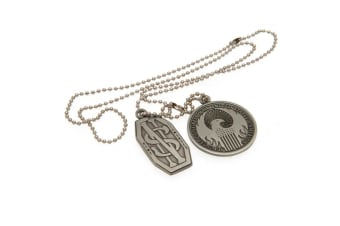 Fantastic Beasts And Where To Find Them Dog Tags (Silver)