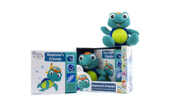 Baby Einstein Neptune's Friends Play-a-Sound Book and Plush Toy