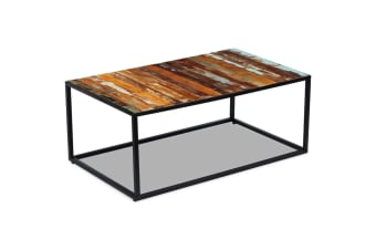 vidaXL Coffee Table Solid Reclaimed Wood 100x60x40 cm