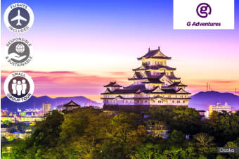 JAPAN: 10 Day Intimate Osaka & Tokyo Tour Including Flights For One or Two