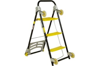 4-in-1 Wonder Trolley Hand Truck Dolly Ladder