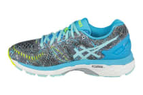 Asics Women's Gel-Kayano 23 (Shark/Aruba Blue/Aquarium)