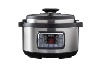 Masterpro 12-in-1 Stainless Steel 8L 1300W Ultimate Cooker Vegetables Fish Meat