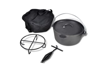 vidaXL Dutch Oven 4.2 L including Accessories